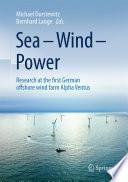 Sea     Wind     Power Book