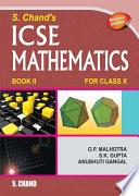 S. Chand's ICSE Mathematics Class -X