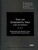 Toxic and Environmental Torts