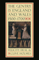 The Gentry in England and Wales, 1500-1700 [Pdf/ePub] eBook
