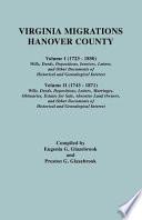 Virginia Migrations - Hanover County