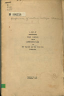 A List Of Periodicals Bound Complete With Advertising Pages In New England And New York City Libraries