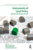 Pdf Instruments of Land Policy Telecharger