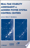 Real Time Stability Assessment In Modern Power System Control Centers Book PDF