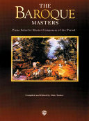 Piano Masters Series  The Baroque Masters