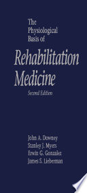 The Physiological Basis of Rehabilitation Medicine Book
