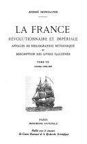 La France révolutionnaire et impériale: Années 1806-1808 ebook