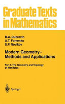 Modern Geometry— Methods and Applications