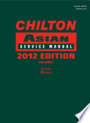 Chilton Asian Service Manual