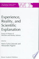 Experience, Reality, and Scientific Explanation