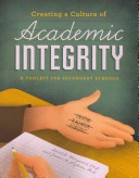 Creating A Culture Of Academic Integrity Book PDF
