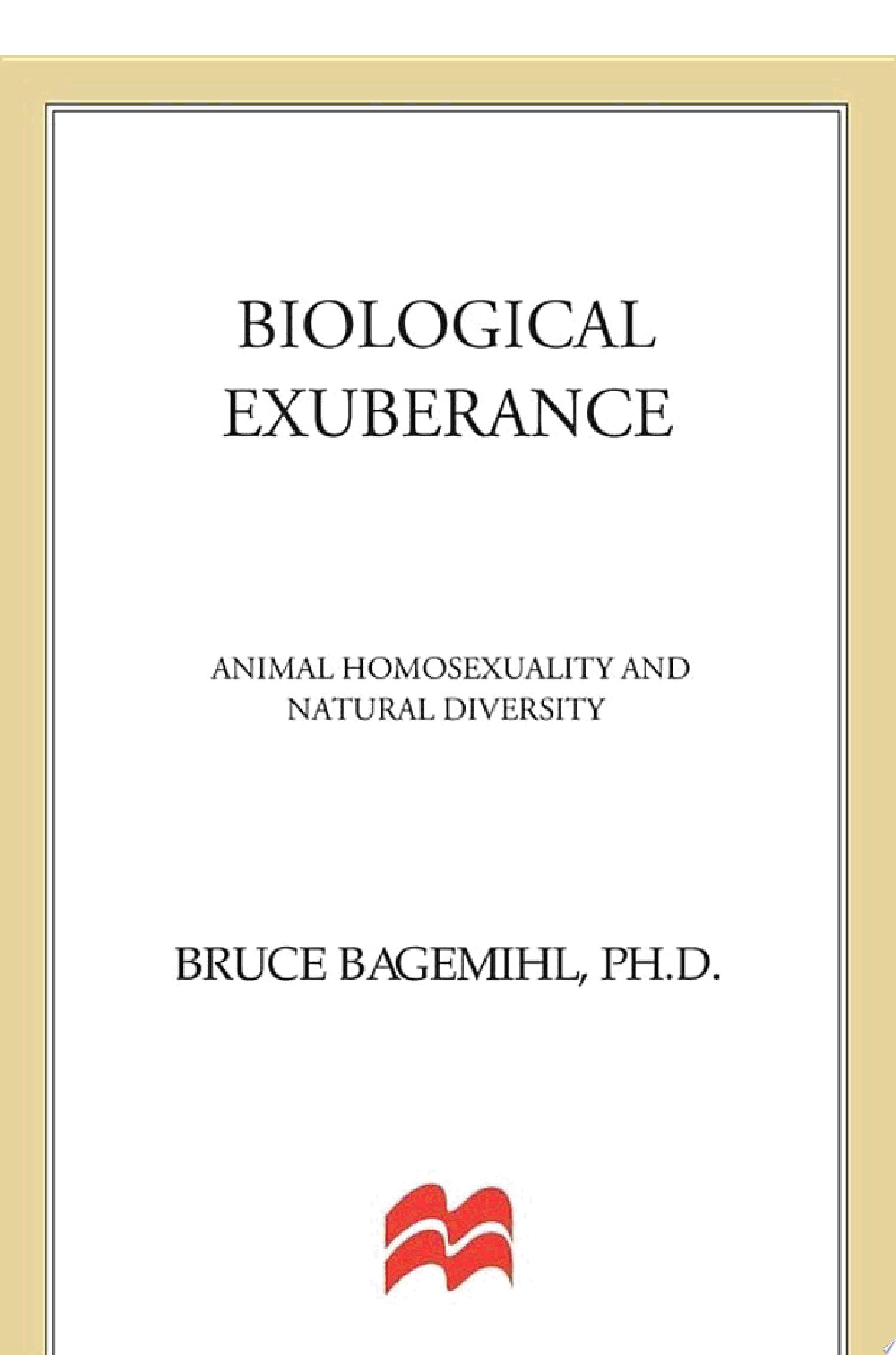 Biological Exuberance