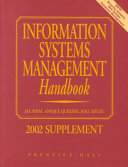 Information Systems Management Handbook Book