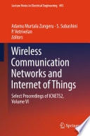 Wireless Communication Networks and Internet of Things Book