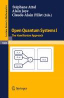Open Quantum Systems I