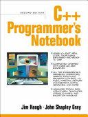 C   Programmer s Notebook