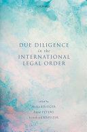 Due Diligence in the International Legal Order [Pdf/ePub] eBook