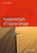 Fundamentals of Tractor Design Book PDF