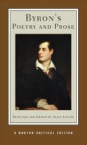 George Gordon Byron Books, George Gordon Byron poetry book