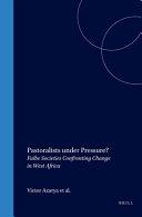 Pastoralists Under Pressure?