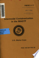 Intermodal Containerization In The Magtf