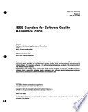IEEE Standard for Software Quality Assurance Plans