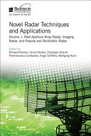 Novel Radar Techniques and Applications