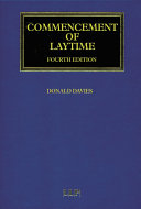 Commencement of Laytime Pdf/ePub eBook