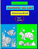 Creative Haven Fanciful Sea Life Coloring Book For Kids