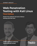 Web Penetration Testing with Kali Linux - Third Edition