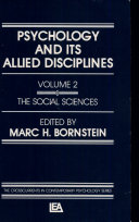 Psychology and Its Allied Disciplines