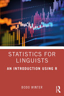 Statistics For Linguists An Introduction Using R