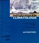Introduction à la climatologie