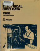 Means Electrical Cost Data