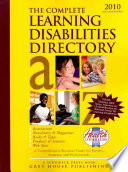 The Complete Learning Disabilities Directory, 2010