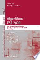 Algorithms   ESA 2009