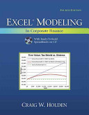 Cover of Excel Modeling in Corporate Finance