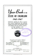 Year Book of the State of Colorado