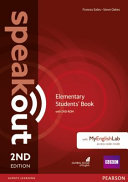 Speakout Elementary 2nd Edition Students' Book for DVD-ROM and MyEnglishLab Pack