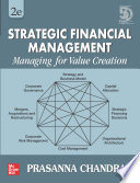 Strategic Financial Management   Managing for value creation   Second Edition