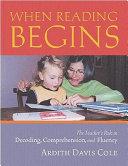When Reading Begins