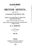Galerie des artistes anglais, depuis hogarth jusqu'à nos jours. ...