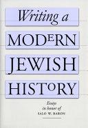 Writing a Modern Jewish History