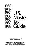 U S  Master Tax Guide