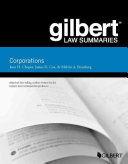Gilbert Law Summaries, Corporations