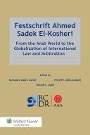 Pdf Festschrift Ahmed Sadek El-Kosheri Telecharger
