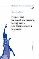 Femmes Face À la Guerre