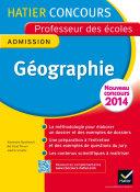 Pdf Concours professeur des écoles 2015 - Géographie - Epreuve orale d'admission Telecharger