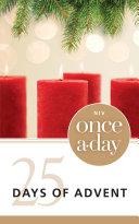 NIV, Once-A-Day: 25 Days of Advent Devotional, eBook Pdf