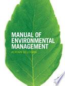 Manual of Environmental Management